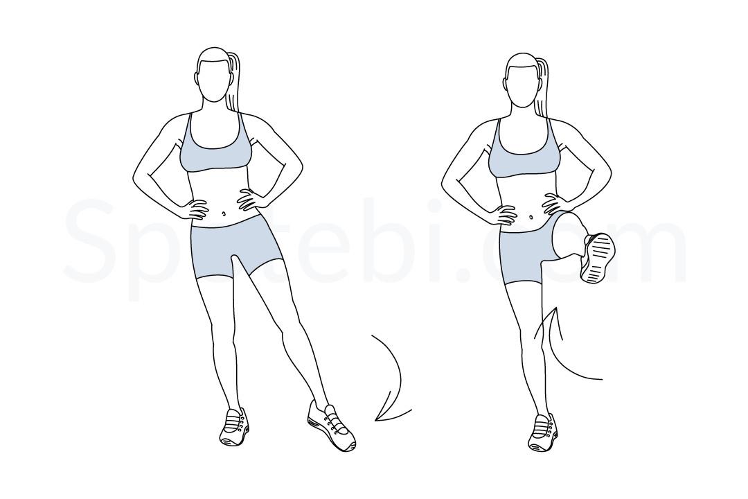 Heel Jacks Exercise