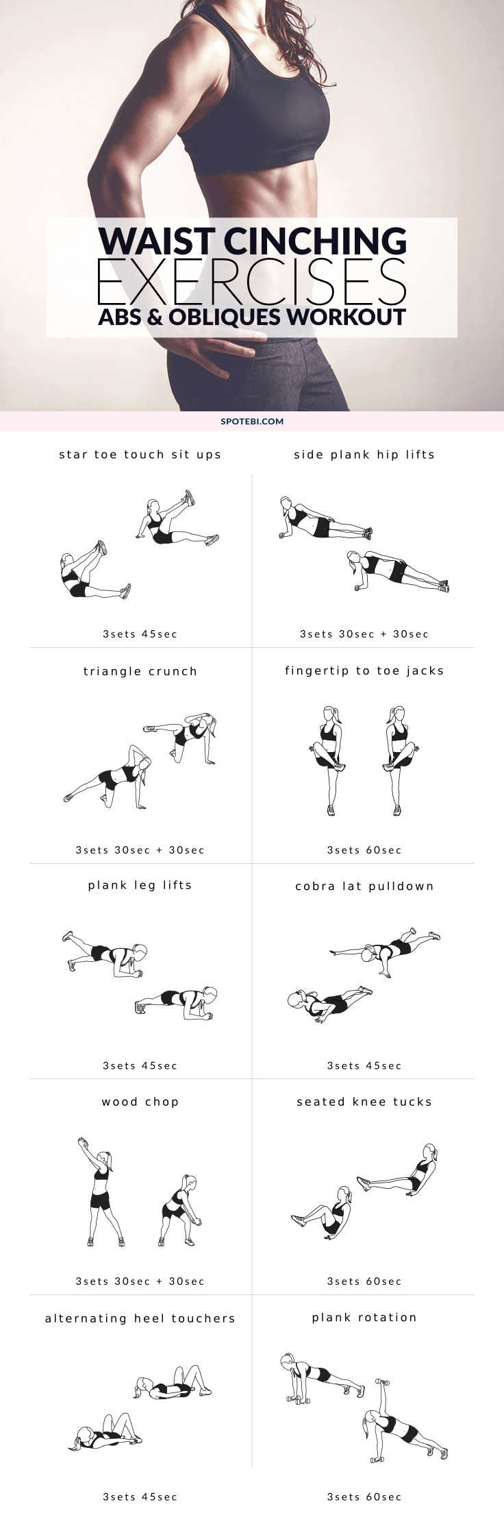 medium resolution of work your abs and obliques with these core exercises for women a 30 minute