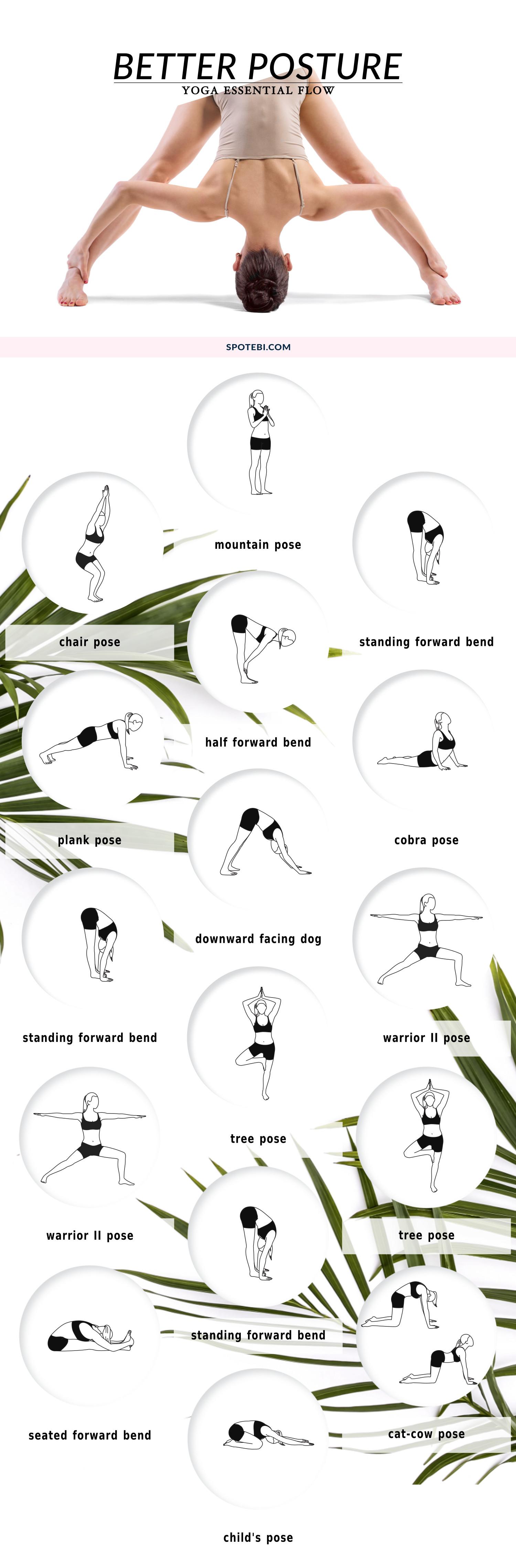 posture alignment chair roman leg raise yoga essential flow better
