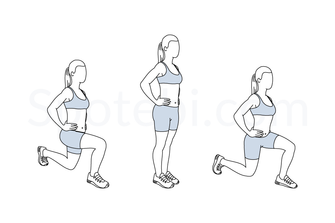 "What do you think of using the ""lunge"" step as a"