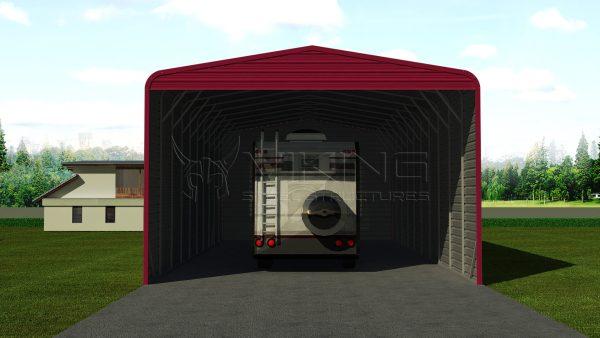 20x51 Steel RV Shelter