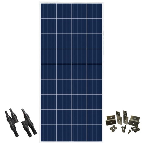 160W RV Solar Kit Expansion Pack