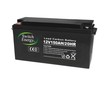 12V 150Ah lead carbon batteries