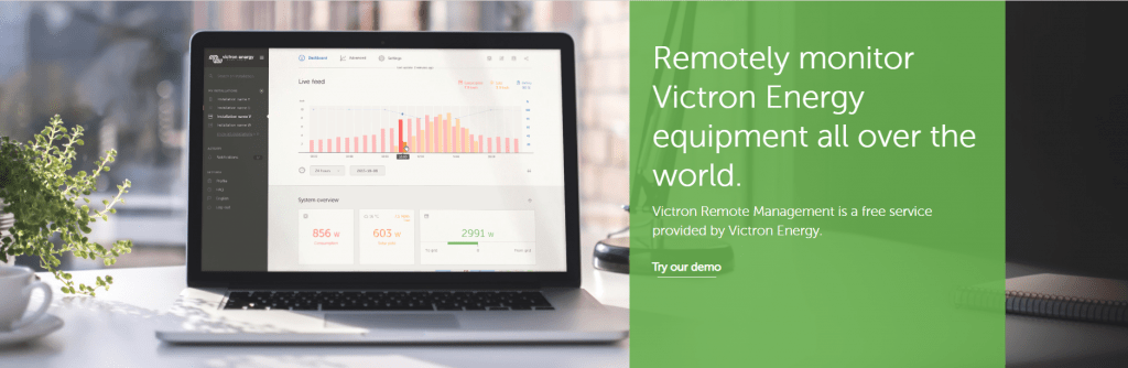 Victron Energy RV Kit Remote Monitoring