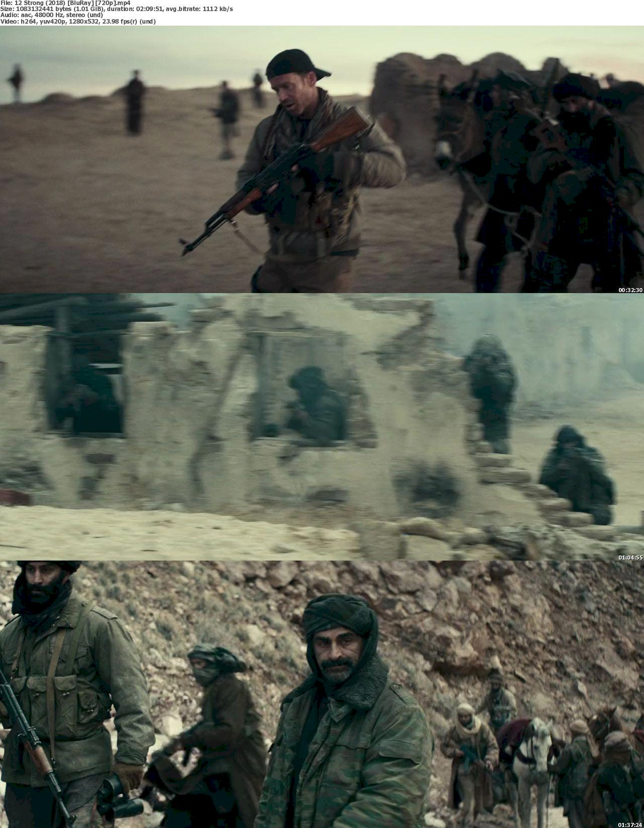 12 Strong (2018) [720p & 1080p] Bluray Free Download – Filmxy