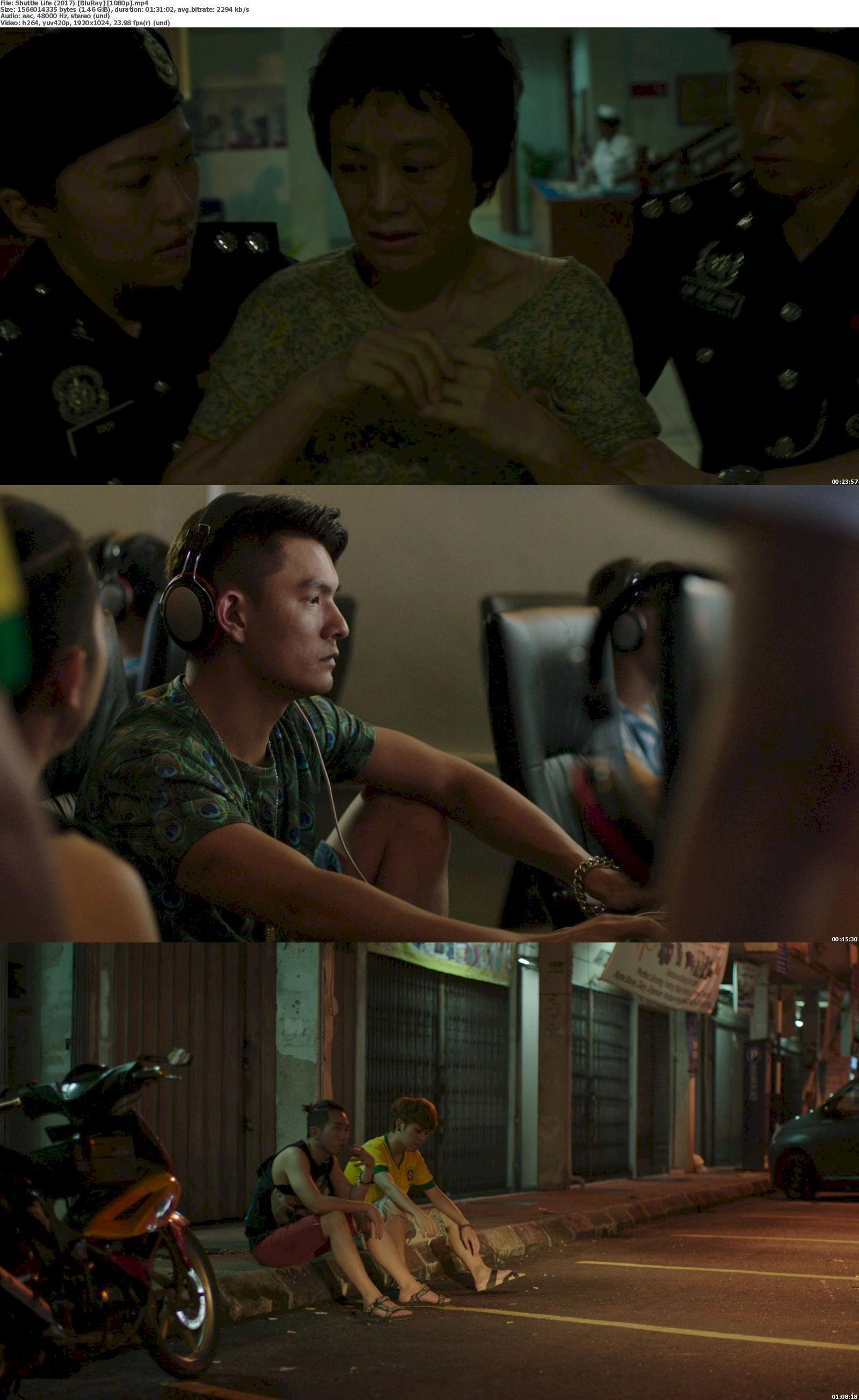 Shuttle Life (2017) [720p & 1080p] Bluray Free Download – Filmxy
