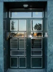 Puerta modelo moderno inoxidable