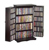 Leslie Dame CD DVD Storage Cabinet