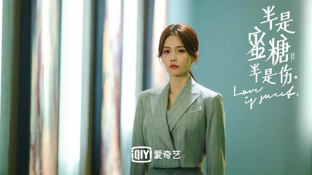Bai Lu in Love Is Sweet Chinese Drama