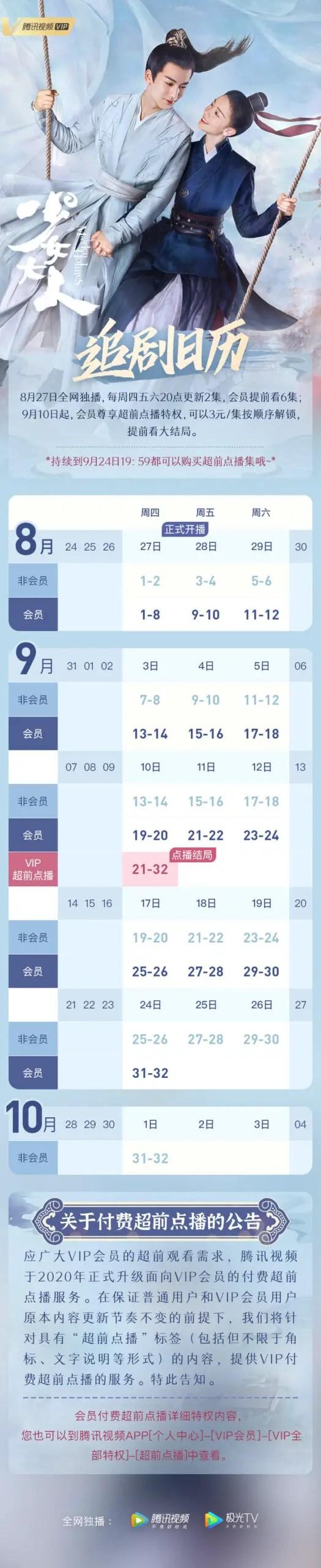 Maiden Holmes Chinese Drama Airing Calendar