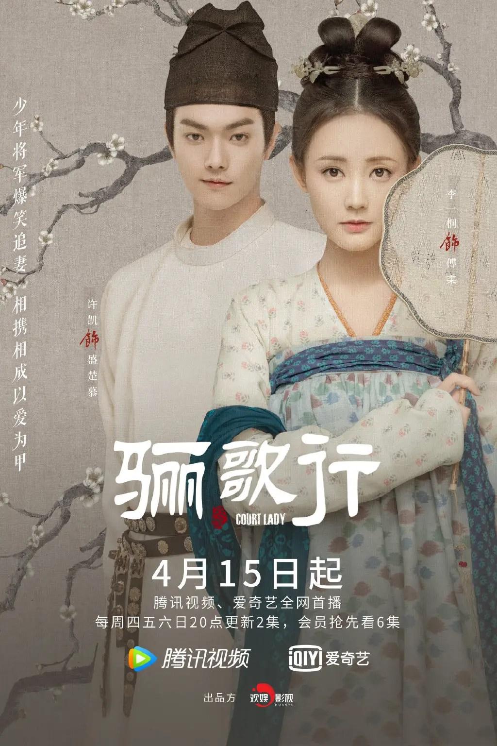Court Lady Chinese Drama Poster