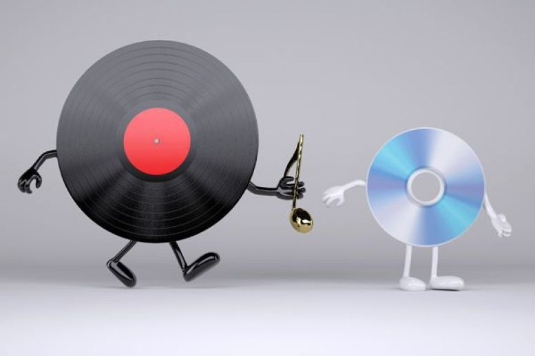 Vinyl Sales Surpass CDs for the First Time Since 1980s - CDROM2GO
