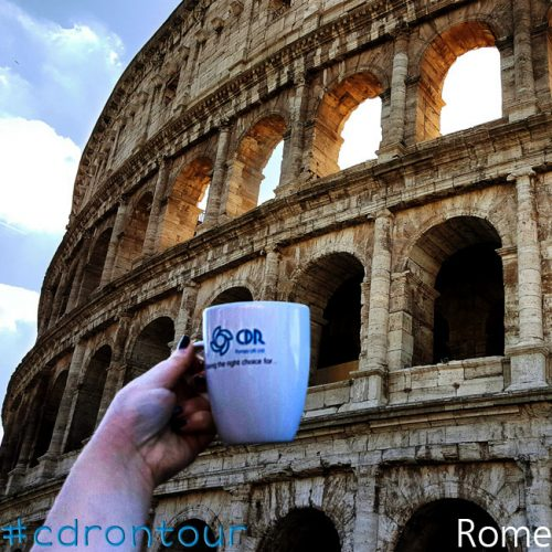 CDR went to Rome, Italy