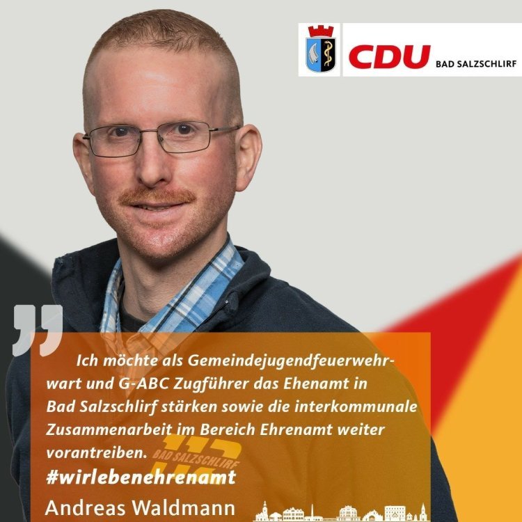 Andreas Waldmann, Listenplatz 16