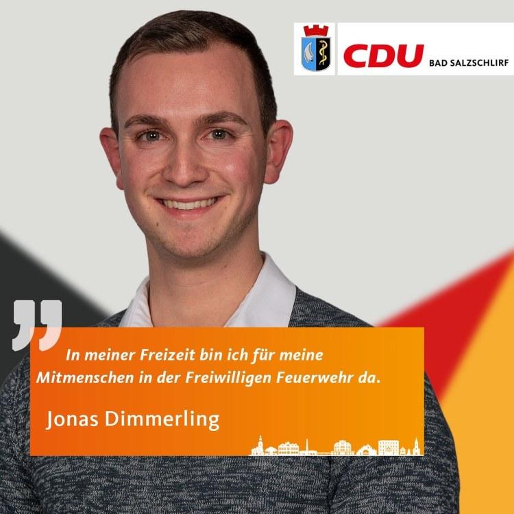 Jonas Dimmerling, Listenplatz 14