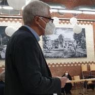 Gemeindeverbandsvorsitzender Dr. Georg Betz begrüßt die anwesenden Mitglieder zur Listenversammlung