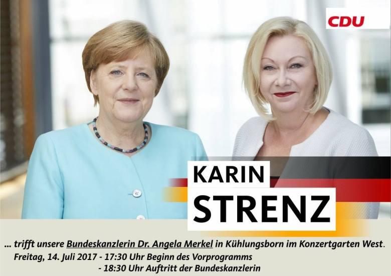 Karin STRENZ Angela MERKEL Stephan Krauleidis