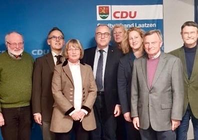 Der neue Vorstand der CDU Laatzen