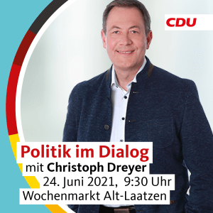Politik im Dialog: Christoph Dreyer in Alt-Laatzen