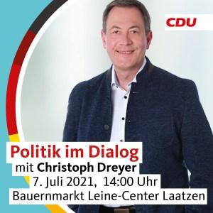 Politik im Dialog: Christoph Dreyer im Gespräch