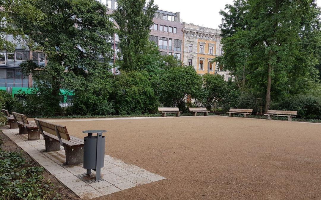Neue Idylle in unserer Mitte – Der Rabensteinplatz