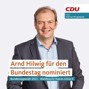 Sharepic Arnd Hilwig