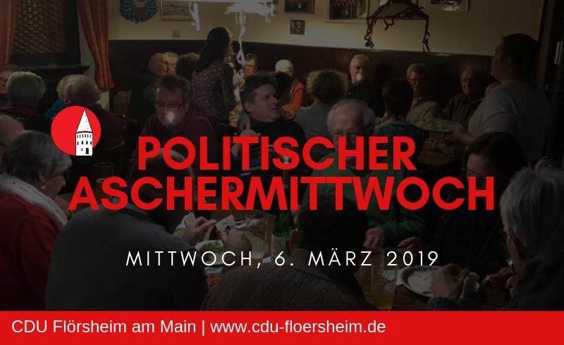 aschermittwoch 2019