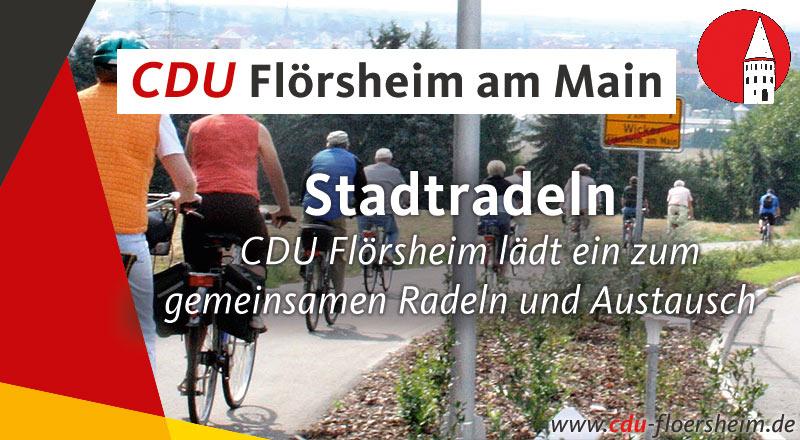 CDU Flörsheim lädt ein zum gemeinsamen Radeln und Austausch