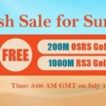 Group logo of Enjoy RSorder Summer Flash Sale with Taking Runescape 07 Gold for Free on July 13