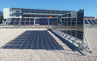 CEA Tech uk  Preindustrial demonstrator system with 60 bifacial photovoltaic modules