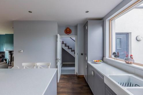 light filled kitchen design