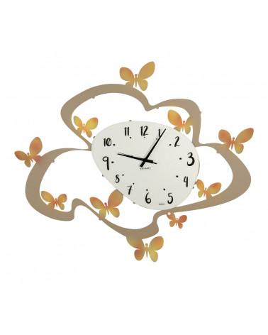 Orologio da parete disaccoppiatore design orologio da cucina rotondo in legno moderno antico in metallo. Orologi Da Parete Moderni E Particolari Vendita Orologi Ceart