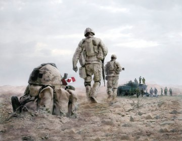 Canadian soldiers in Afghanistan (Photo: Chronicle Telegraph/Silvia Pecota)