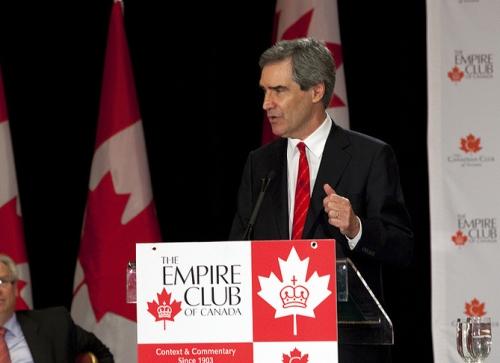 """""""Imperialist lite"""" Michael Ignatieff speaks at the Empire Club, 15 June 2010"""