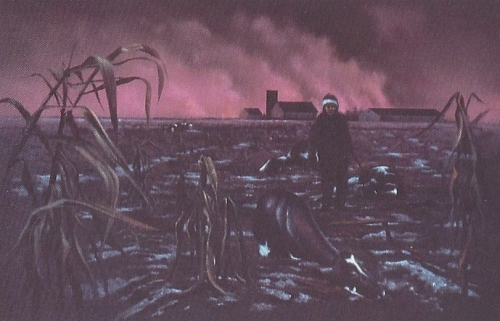 Nuclear famine