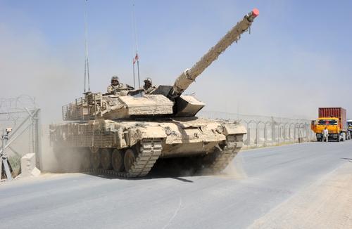 CF Leopard 2 tanks