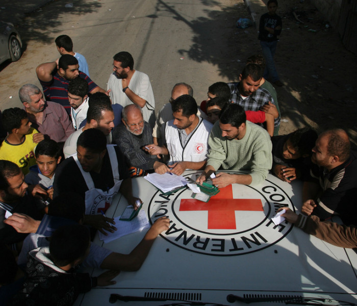 ICRC Gaza City