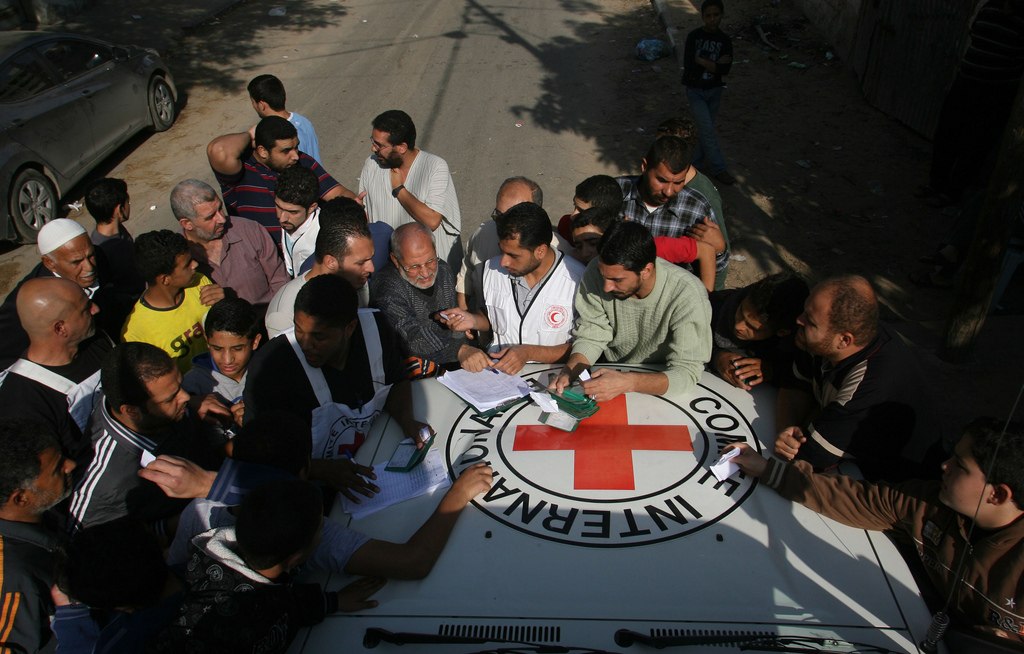 ICRC Gaza City