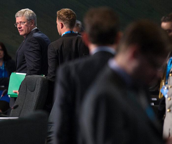 Harper attends NATO Summit