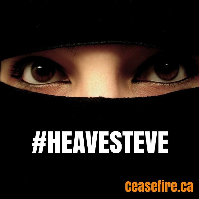 Niqab#HeaveSteveINSTAGRAM