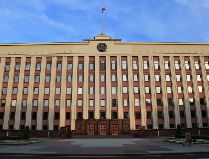 Minsk_Präsidentenpalast_1