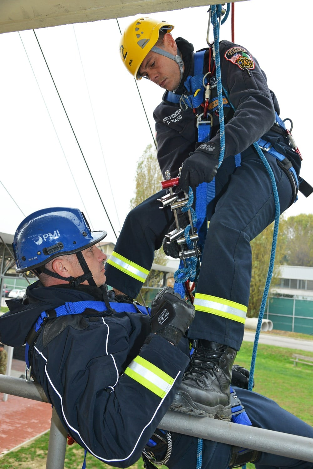 DOD TECHNICAL ROPE RESCUE 1, USAG ITALY FIRE DEPARTMENT