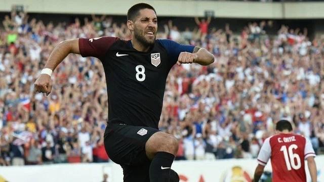 Dempsey marcou o tento da vitória dos Estados Unidos na Filadélfia - Foto: GE