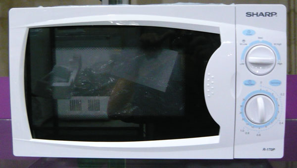 sharp r 170p microwave oven
