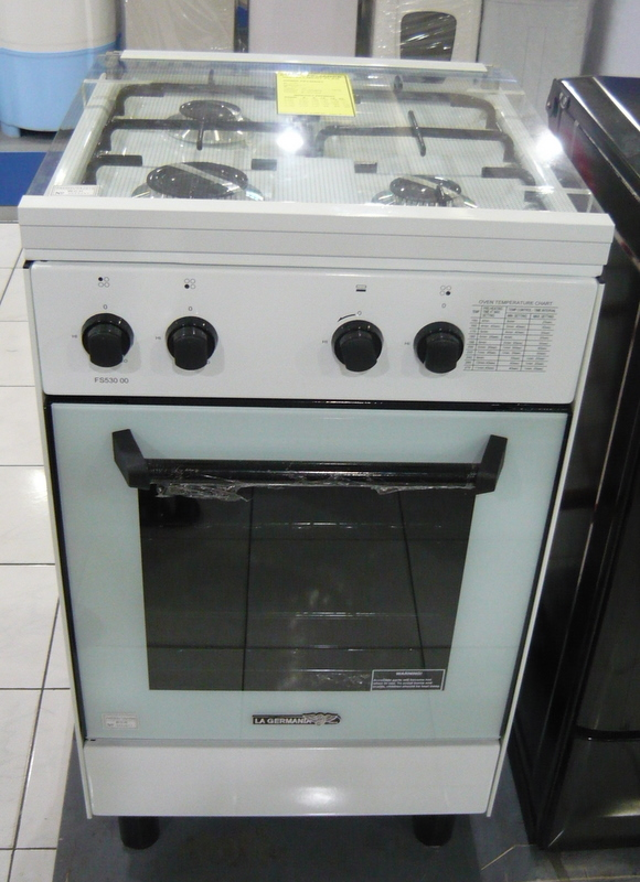 La Germania 3Gas Burner Manual Oven  Cebu Appliance Center