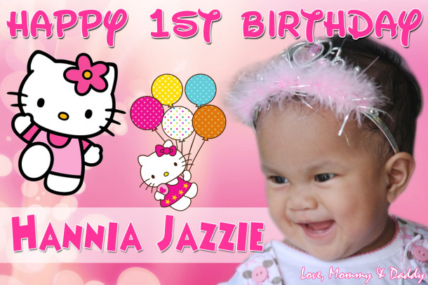 Hannia Mejorada 1st Birthday Hello Kitty Cebu