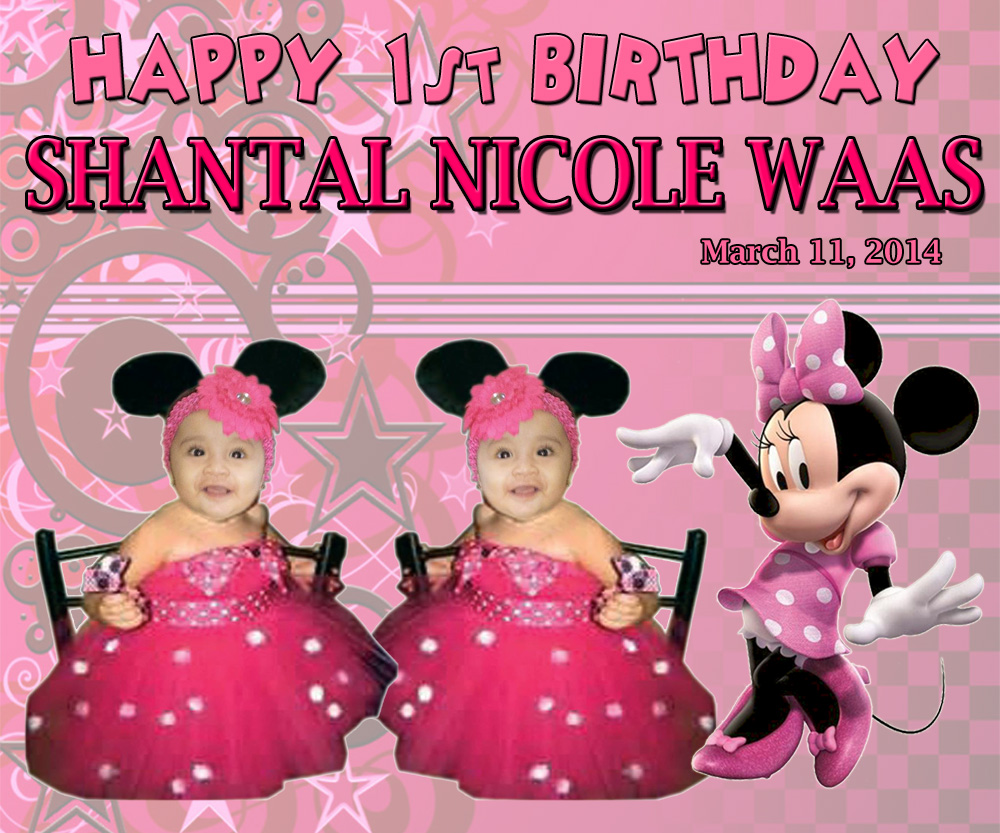 Party Minnie Mouse Mickey Red Birthday And