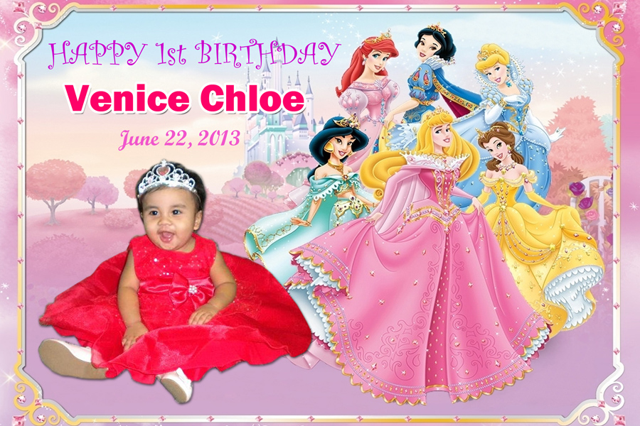 Venice 1st Birthday Disney Princess Cebu Balloons And