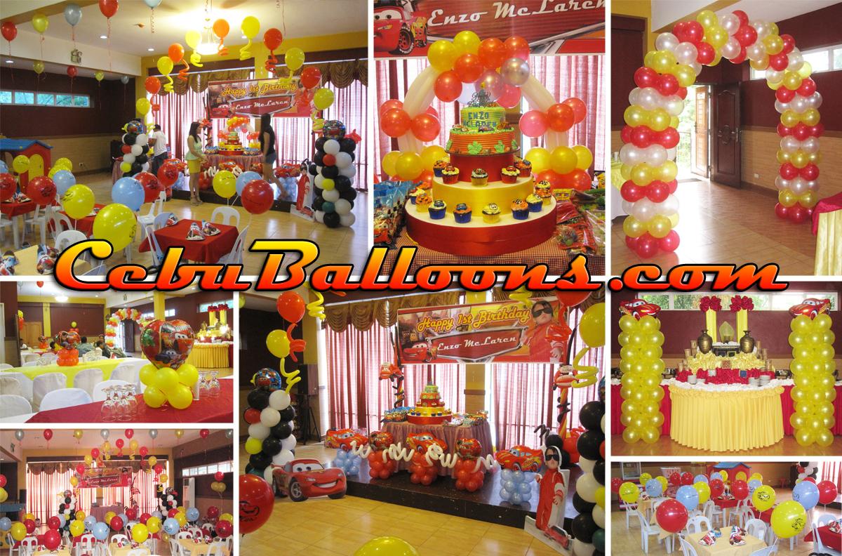lightning mcqueen birthday decoration ideas