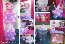 Kitty Decoration & Party Package Golden Peak